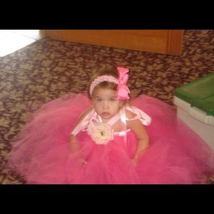 Other - Pink Tutu Halter Dress